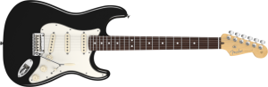 2010 Fender American Standard Stratocaster in Black
