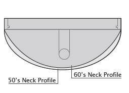 Neck Profiles: Gibson 50's & 60's   Guitars, Paramedics